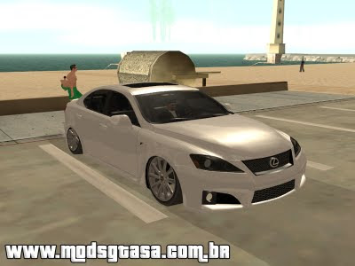 Lexus IS F 2009 Tuning para GTA San Andreas