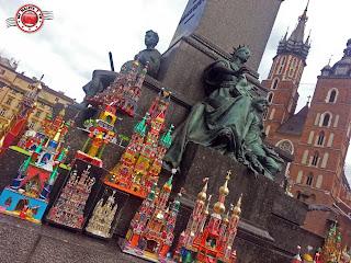 Concurso de belenes de Cracovia en Navidad