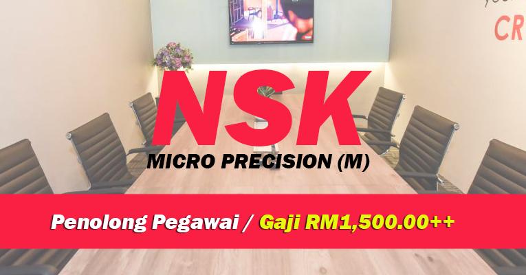 Jawatan Kosong di NSK Micro Precision (M)