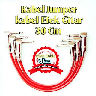Kabel Jumper Atau Kabel Jumper Efek Gitar 30cm