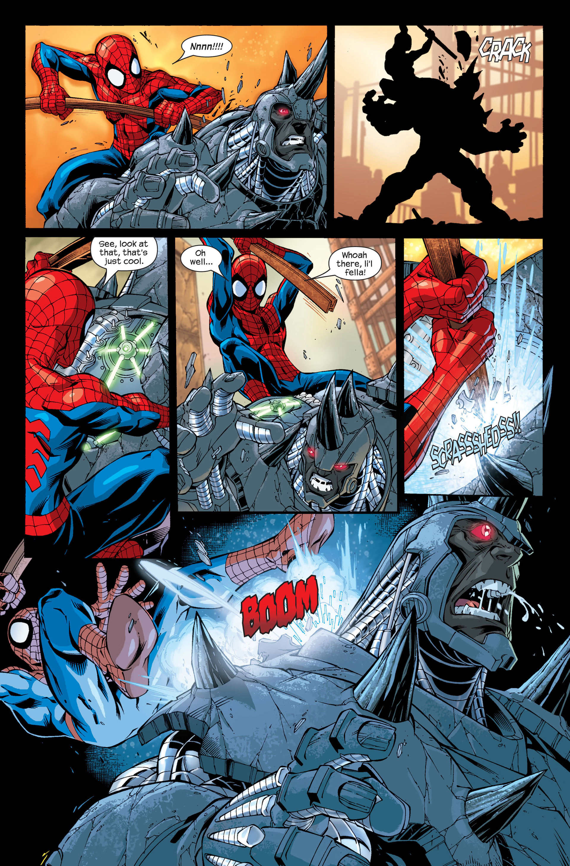 Read online Ultimate Spider-Man (2000) comic -  Issue # Annual 1 - 8