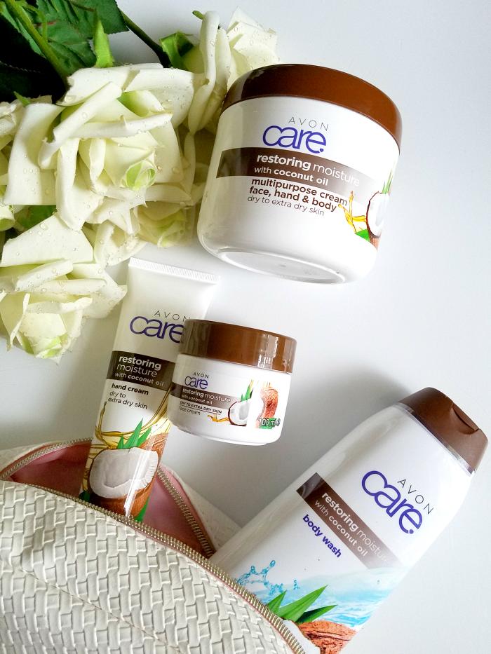 Review: AVON Care - Restoring Moisture with Coconut Oil für trockene Haut