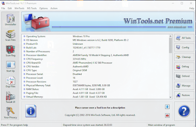 WinTools.net Premium Serial