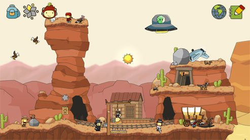 Scribblenauts Unlimited for 3DS~ Review - Food Fun & Faraway