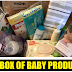 Free Baby Products Sample Box With $10 in total Amazon Purchases - Amazon Prime Members. Includes Swaddle Blanket, Avent Baby Bottle, Pampers Diapers and Wipes Samples, Huggies and Seventh Generation Diapers, Full Size Huggies Wipes, Avent and Munchkin Nursing Pads, Dove Baby Wash, Aveeno Baby Lotion and MORE!