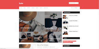 ratio blogger template