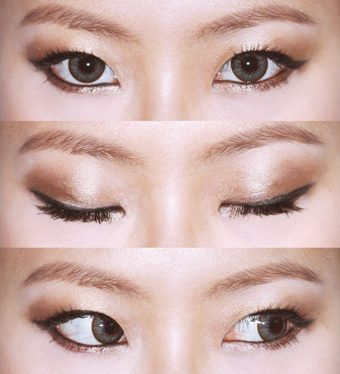 Korean Eye Makeup For Monolid And Double Eyelid Korean Site