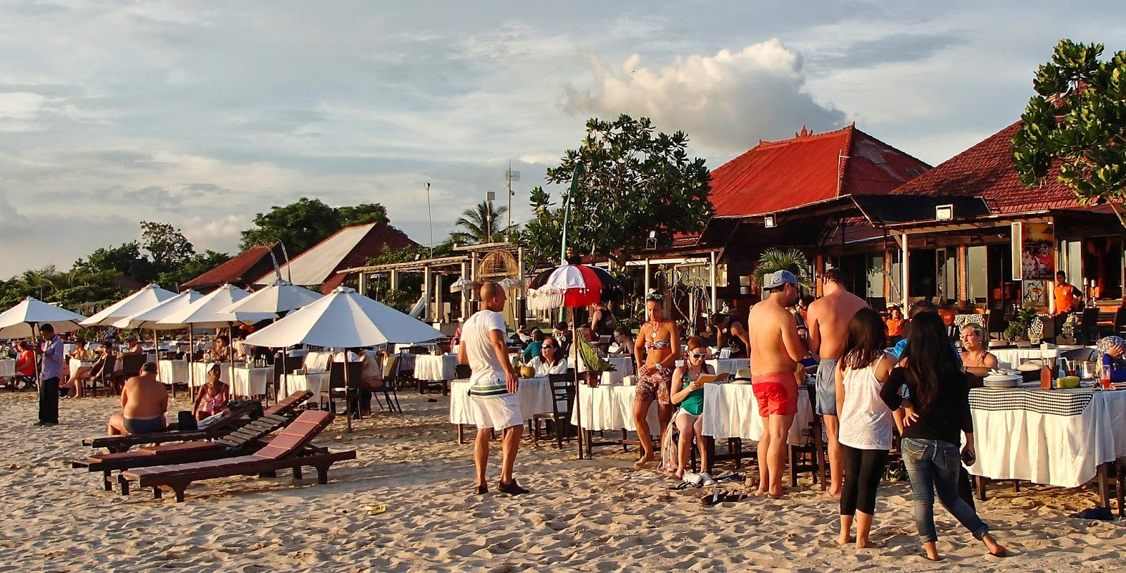 Thailand Bali And Other Beaches Islands Some Info On Paket Watersports Tanjung Benoa Include Lunch Plenty Going As Sunset Approaches