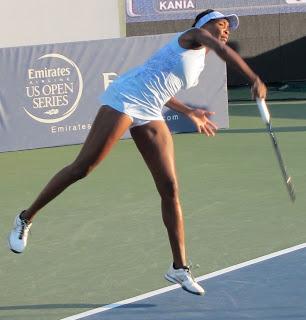 Venus stunned in return; Gibbs upsets Keys