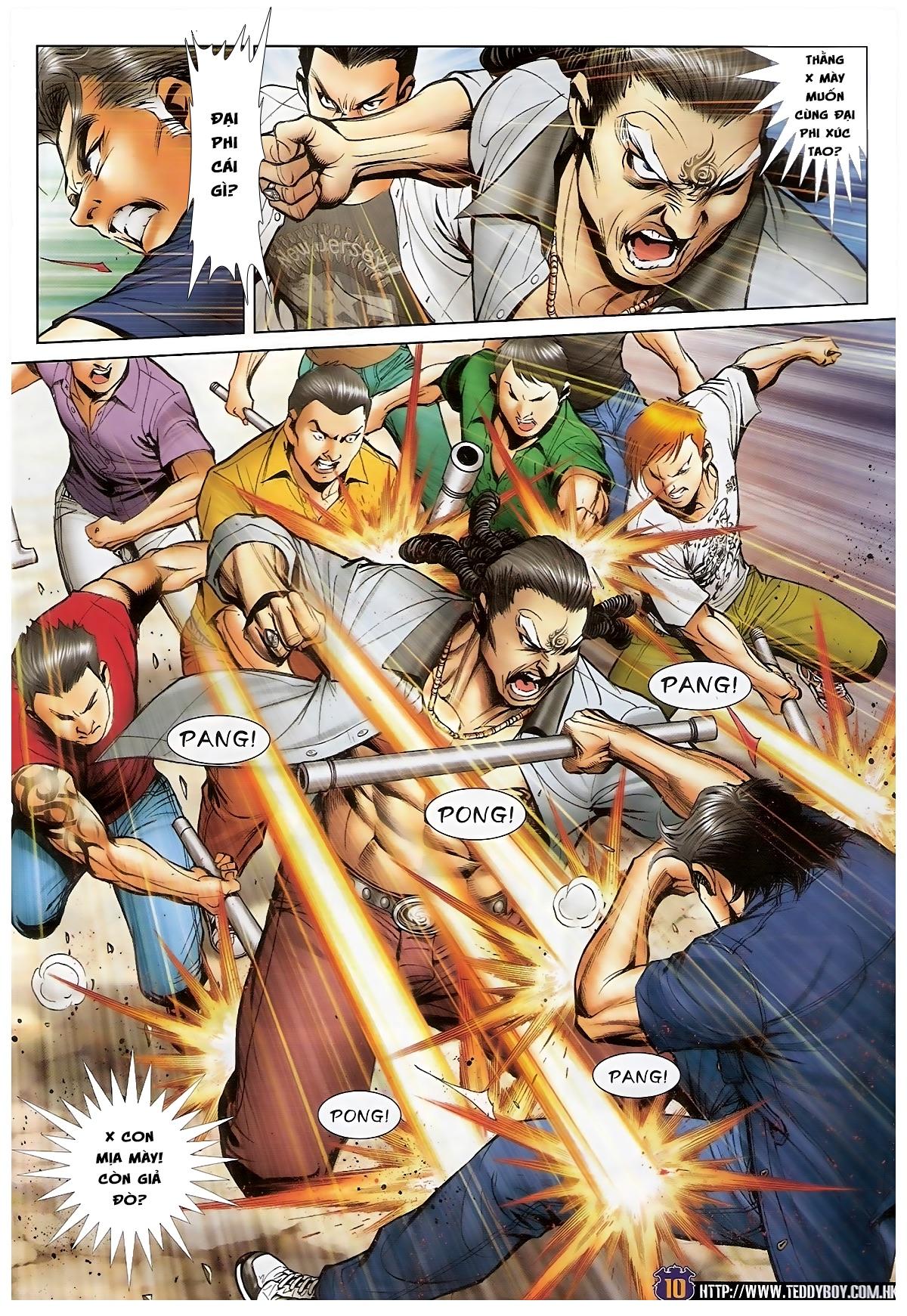 Người Trong Giang Hồ - Chapter 1550: Hai chọi Hai - Pic 8