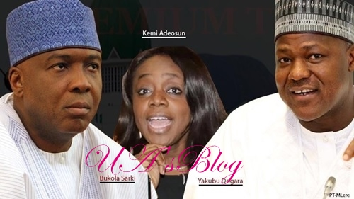 N10billion Adeosun Largesse: Saraki's N'Assembly Paid N5.6billion To 44 Unqualified Firms - FULL LIST