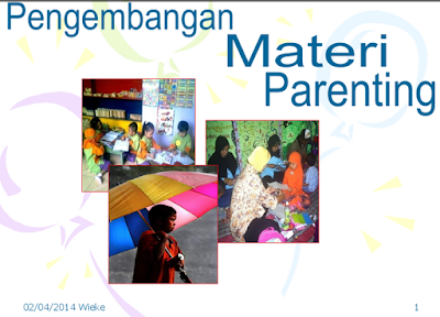 Pengembangan Materi Parenting Education PAUD Lengkap