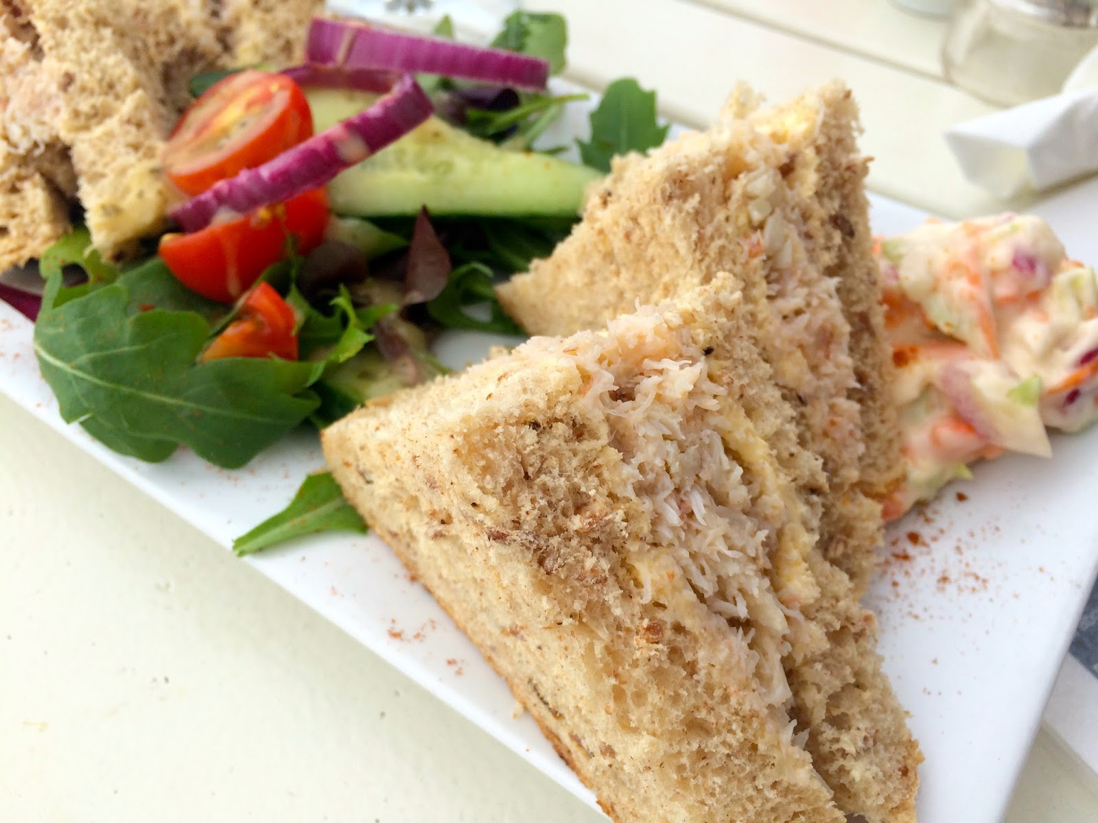 Beachcomber Cafe Praa Sands, food bloggers UK, travel bloggers UK, places to eat Marazion
