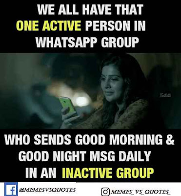 Message Of Inactive Group