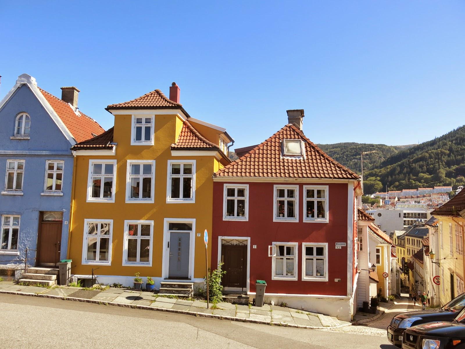 Nordnes trähusbebyggelse i Bergen