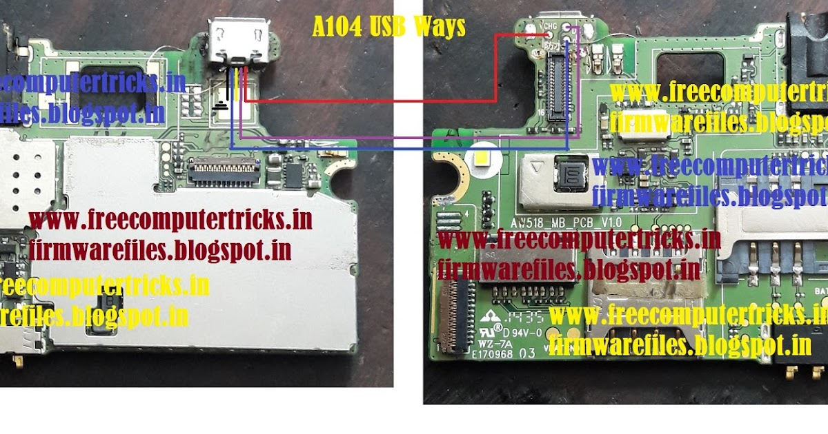 Micromax A104 Charging & Complete USB Ways ~ Free Computer