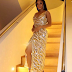 Photogist: Check Out Toke Makinwa's Look As She Stepped Out For Her Meet & Greet In London
