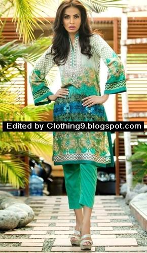 Al-Zohaib Midsummer Maheen Embroidered Tunics
