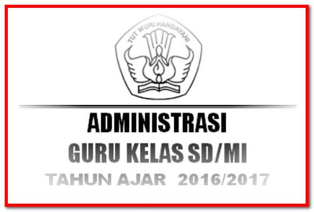 Kumpulan File Administrasi Guru dan Sekolah 2017 Terlaris