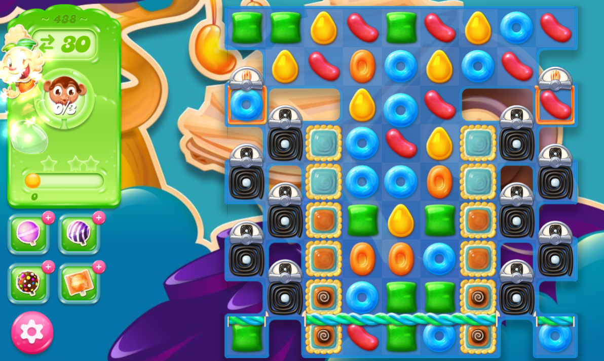 Candy Crush Jelly Saga 439