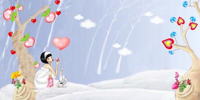 Cartoon Wallpaper,การ์ตูนสาวน้อย แสนสวย น่ารัก ชุดที่5-4