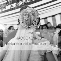 robe de mariée Jackie Kennedy