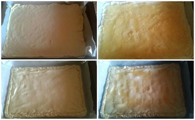 empanada de compota de manzana