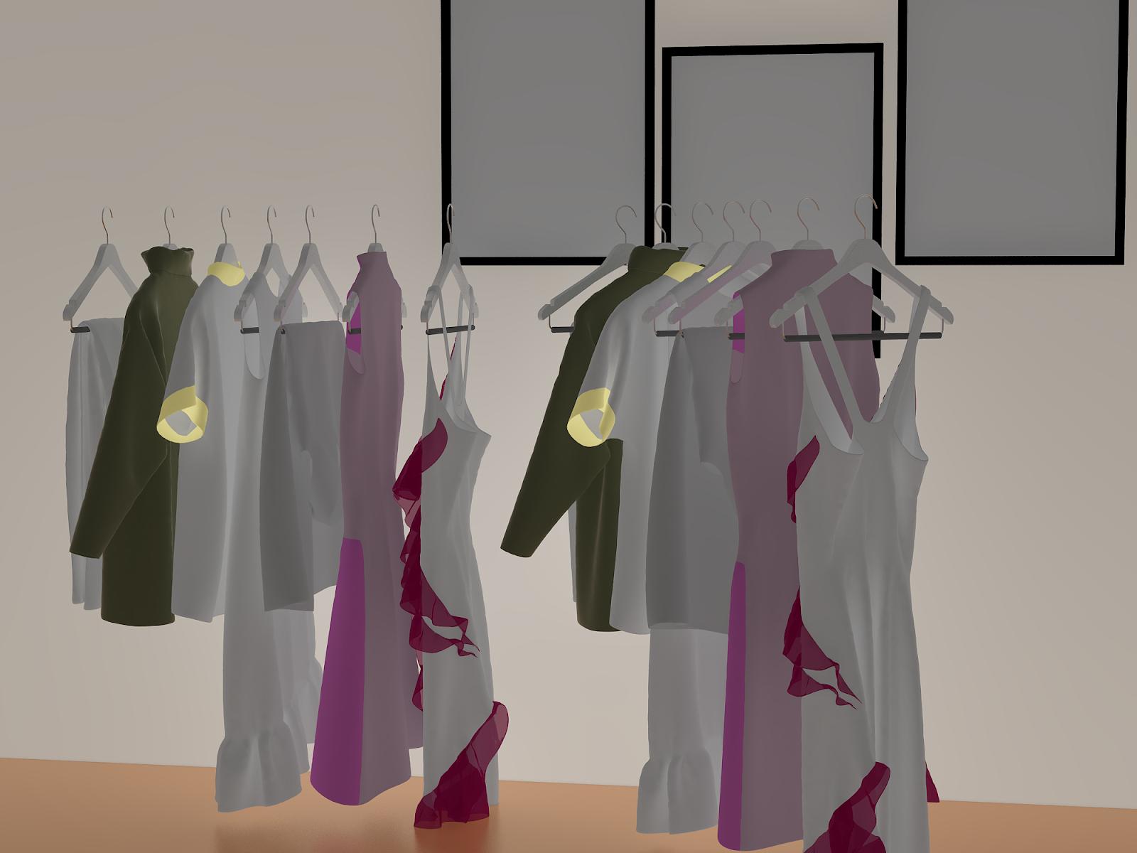 3D Kıyafet Modelleri