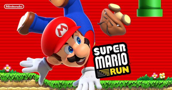Super Mario Run Game on Android