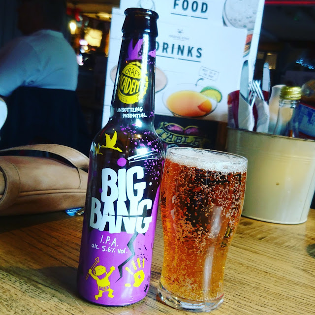 London Craft Beer Review: Big Bang from Craft Academy bottle