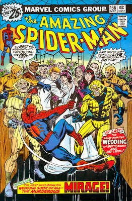 Amazing Spider-Man #156, Mirage, wedding of ned leeds and betty brant