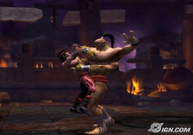 Mortal Kombat: Shaolin Monks PS2 GAME ISO Gameplay 1