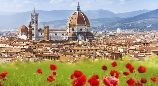 Tempo de avião até Florença