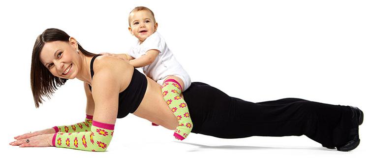 Treino de mamãe e seu nenê com metas atingiveis