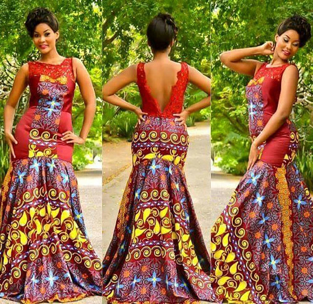 25 Beautiful African Print Maxi Dresses And Gowns For A Wedding Guest