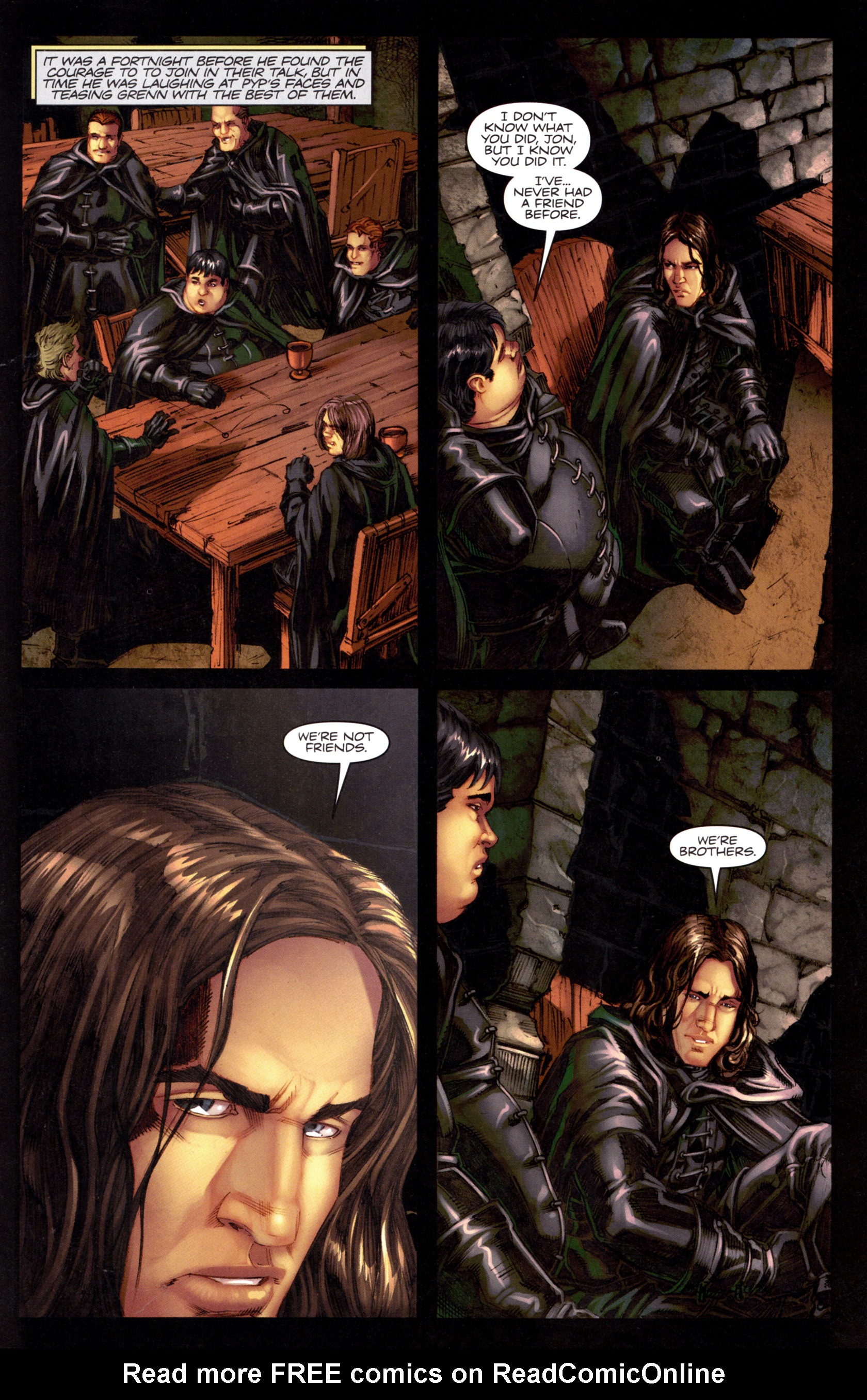 Read online A Game Of Thrones comic -  Issue #8 - 23