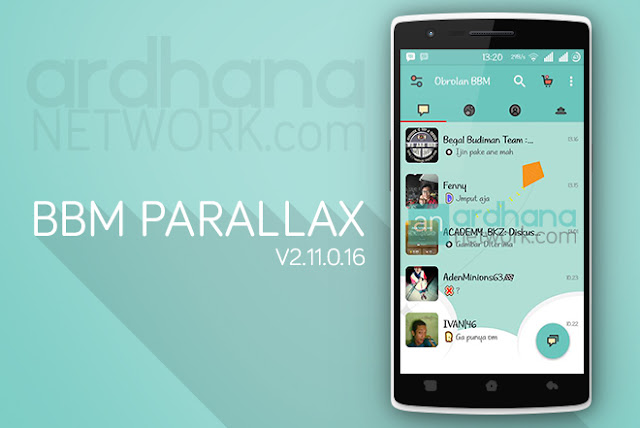 BBM Parallax Competition - BBM Android V2.11.0.16