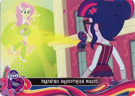 My Little Pony Draining Equestrian Magic Equestrian Friends Trading Card