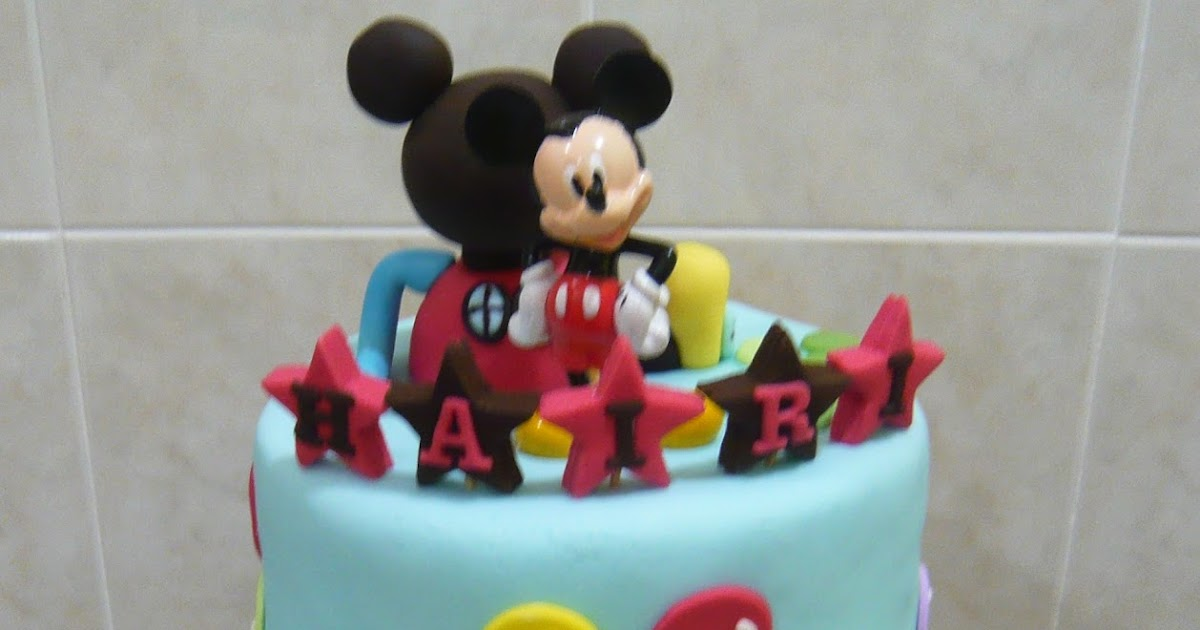 Jenn Cupcakes Amp Muffins Mickey With Clubhouse Cake