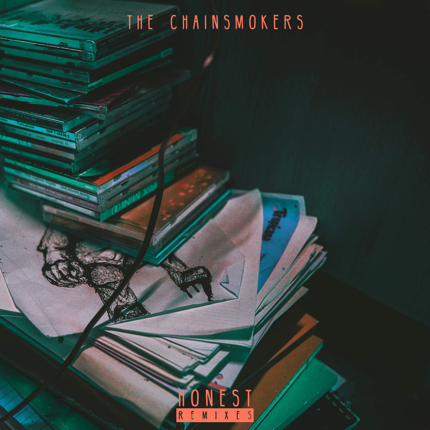 the chainsmokers collage spotify