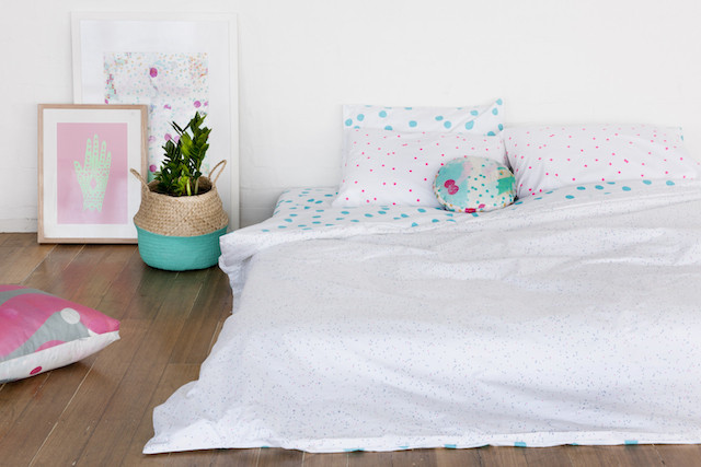 Winner of beautiful bed linen from Feliz (+ 20% discount code for all!)