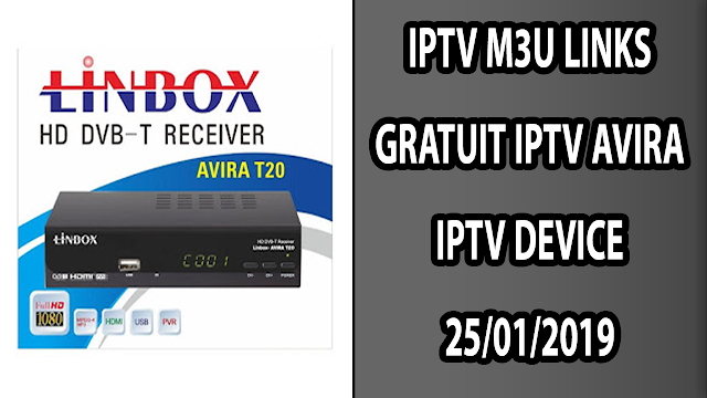 IPTV AVIRA IPTV DEVICE 25/01/2019