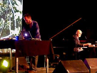 Ulrich Schnauss & Hans-Joachim Roedelius live @ Electronic Circus 2016 / photo S. Mazars