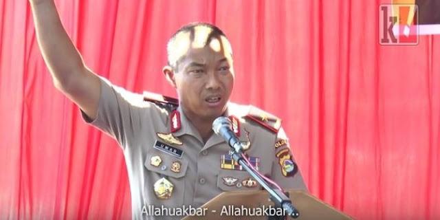 Pidato Kapolda Nusa Tenggara Barat ini Membuat Hati Tergetar