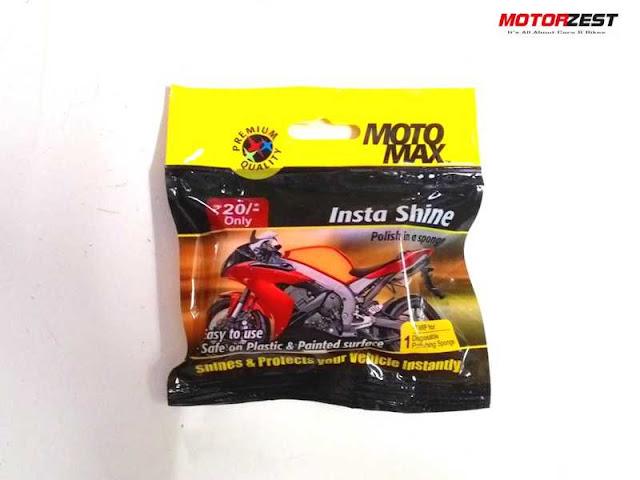 Motomax Insta Shine Sponge