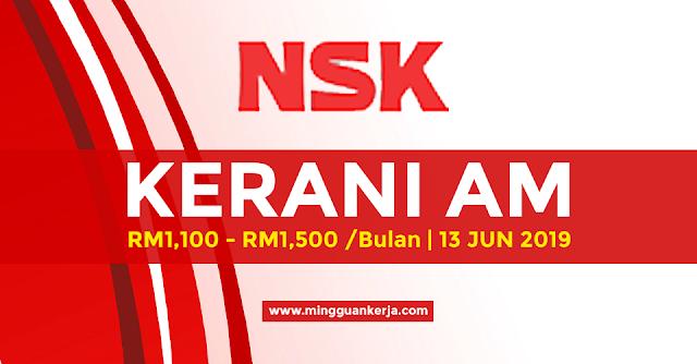 Kerani Am - NSK Micro Precision (M) Sdn Bhd