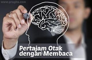 Mempertajam Otak dengan Membaca