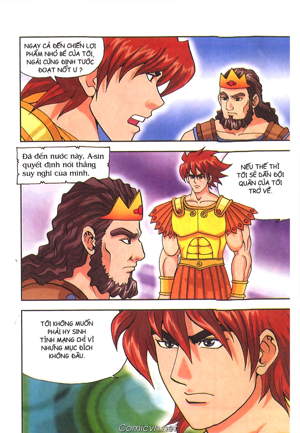 Thần Thoại Hy Lạp Màu - Chapter 56: Hai vị tướng và hai mỹ nữ - Pic 32