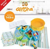 Anasha Faeyza Puzzle Lunch Set
