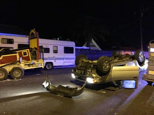 arroyo grande san luis obispo county truck crash nelson street